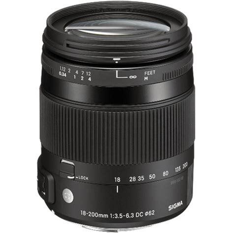 Sigma Digital sigma 18 200mm f 3 5 6 3 dc macro os hsm lens for sigma 885 110