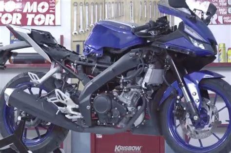 Sarung Motor Penutup Motor All New R15 Vva Size bongkar habis yamaha all new r15 vva gridoto