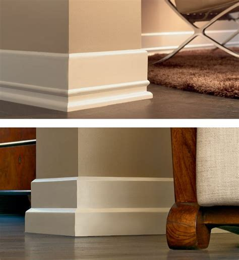 pictures of contemporary baseboard and molding styles tile skirting vs wood baseboard molding wood baseboard