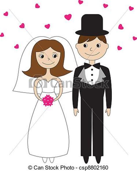 sposi clipart clipart vettoriali di sposa sposo sposa e sposo