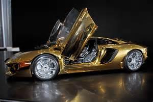 A Gold Lamborghini Gold Lamborghini Veneno Price