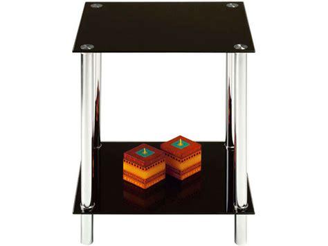 table basse bout de canap bout de canap 233 coloris noir vente de table basse