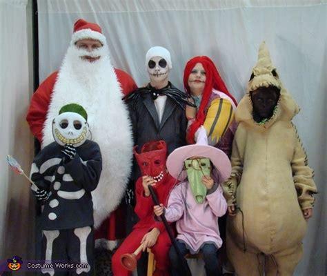 nightmare  christmas family costumes