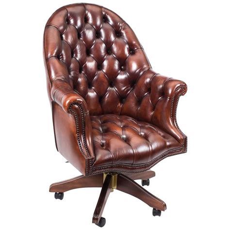 Handmade Leather Chairs - handmade leather directors desk chair bbo for sale