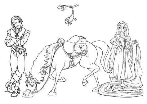 coloring pages online rapunzel tangled coloring pages coloring kids