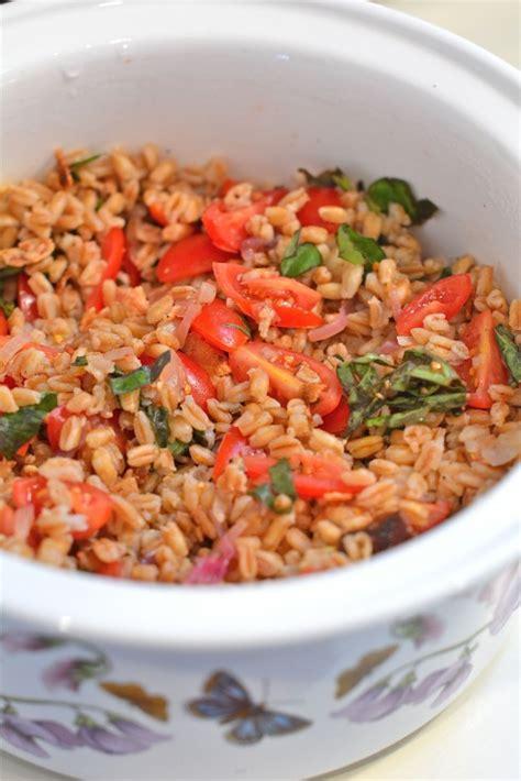 Detox Farro Salad Home Chef by Tomato Bacon Farro Salad