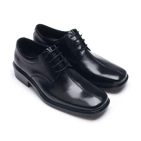 mens square toe black leather dress shoes