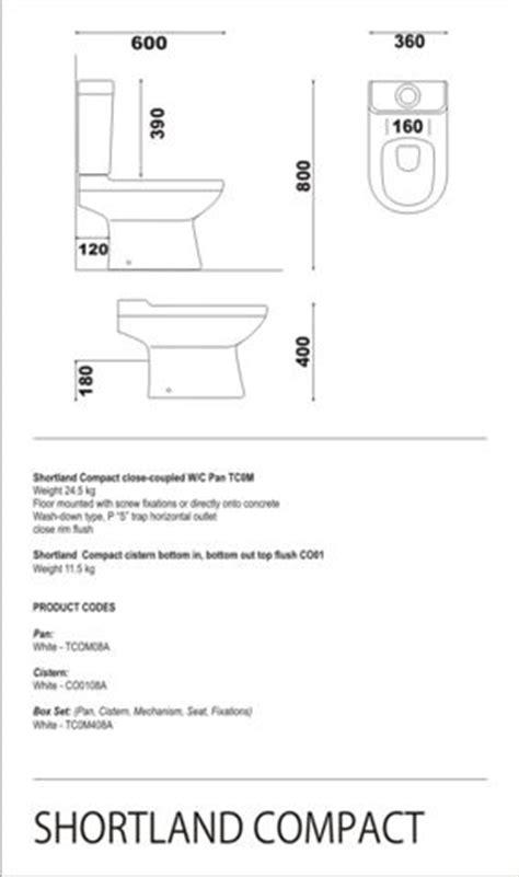 Short Shower Baths close couple toilets