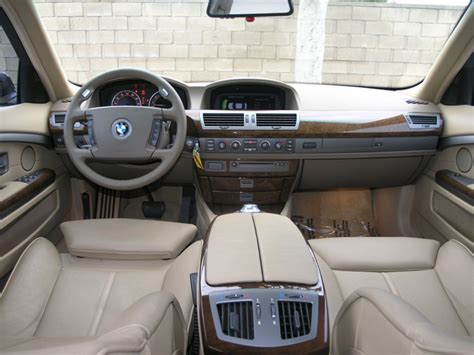 Bmw 7 Series 2003 Interior by 2003 Bmw 7 Series Interior Pictures Cargurus