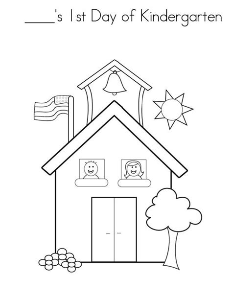 1st day of school coloring pages sketch coloring page
