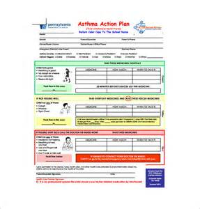 asthma plan template asthma plan template 10 free word excel pdf