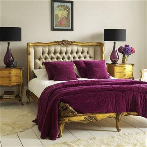 purple yellow and grey bedroom home quotes theme design purple and gold color combination