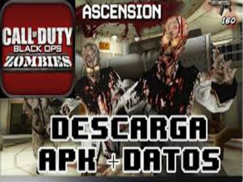call of duty zombies apk mod descargar call of duty black ops zombies para android v 1 08 apk datos sd gratis asurekazani