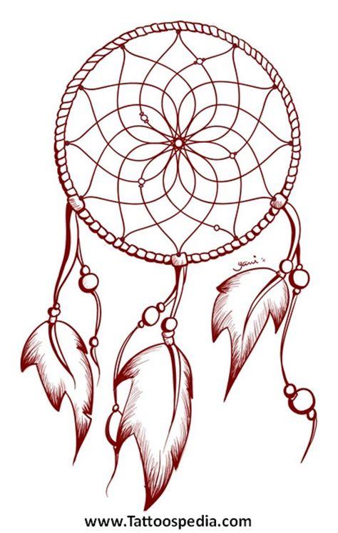dream catcher tattoo outline dreamcatcher tattoo outline 2