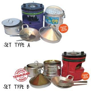 Mainan Anak Set Kompor Masak masak masakan jadul jaman dulu dari logam seng alumunium
