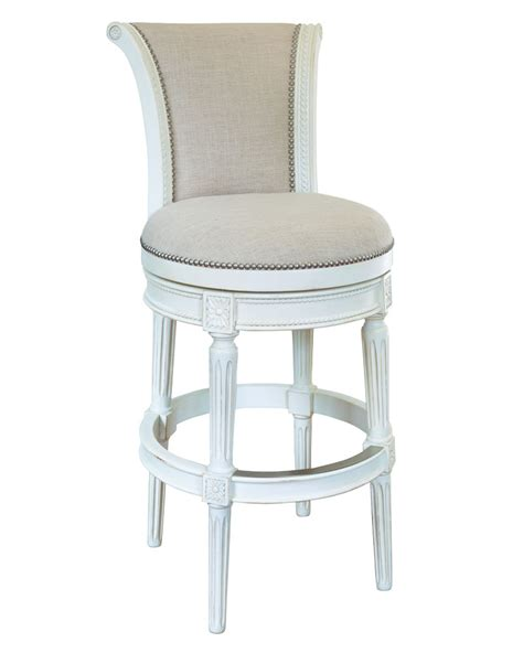 Vintage Swivel Counter Stools by Lowden Vintage White Swivel Bar Counter Stool Collection