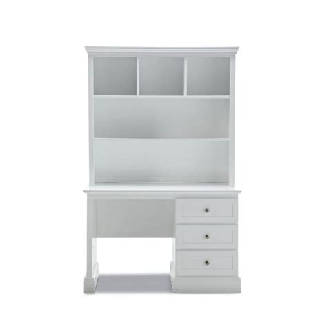 simple desk with drawers mia 3 drawer kids desk hutch white smooth finish buy