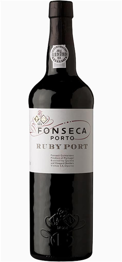 ruby porto ruby wine fonseca