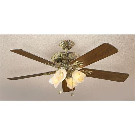 camouflage ceiling fan 52 quot buckhead 174 gunmetal cherry ceiling fan 163786