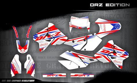 drz 400 dekor suzuki drz 400 1999 2016 dekore mx kingz motocross shop
