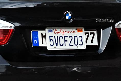 if you superfluous license plates on your car you
