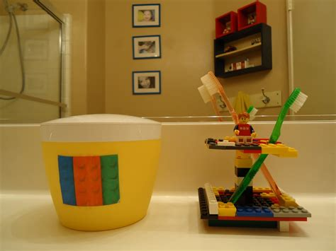 Lego Bathroom Decor by Shaped By Grace April 2011