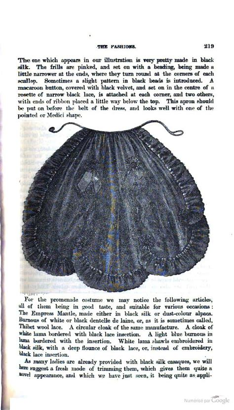 sewing pattern for victorian apron 96 best victorian aprons images on pinterest victorian