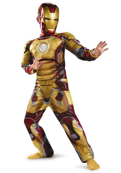 child muscle iron man mark costume
