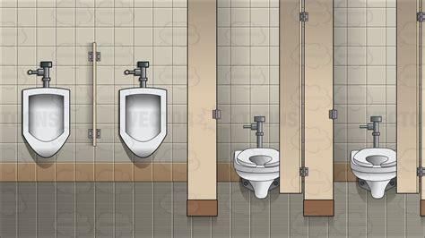 mens public bathroom the interior of a men s public bathroom background cartoon