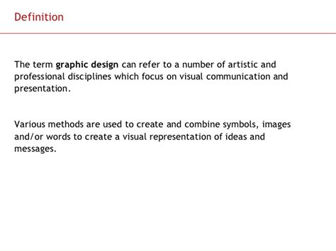 visual communication design introduction an introduction to graphic design