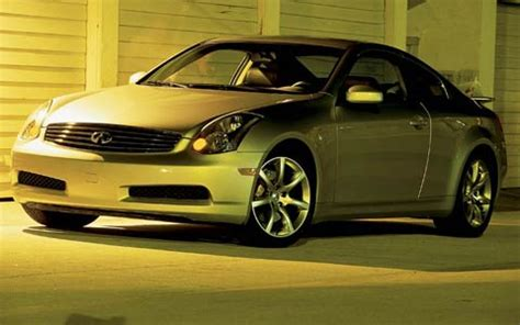 2003 infiniti g35 sport coupe 6mt front drivers side view