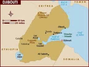 Djibouti Africa Map by Map Of Djibouti