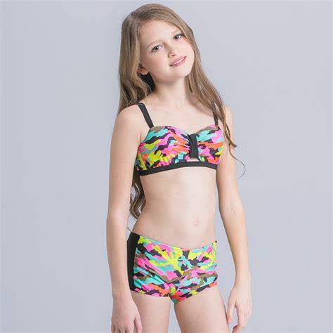 teen swimsuit girls swimwear nice camouflage wrap teen girl swim suit bikini irder