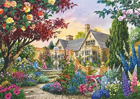 Puzzle Tombol Tranport gibsons flora fauna jigsaw puzzles 4 x 500 pieces pdk