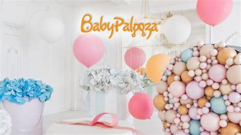 virtual zoom backgrounds  baby showers babypalooza