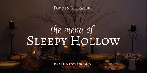 Washington Irving Sleepy Hollow Essay by Throw A Legend Of Sleepy Hollow The Menu From The Book In Literature