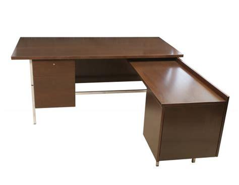 florence knoll desk return modern furniture