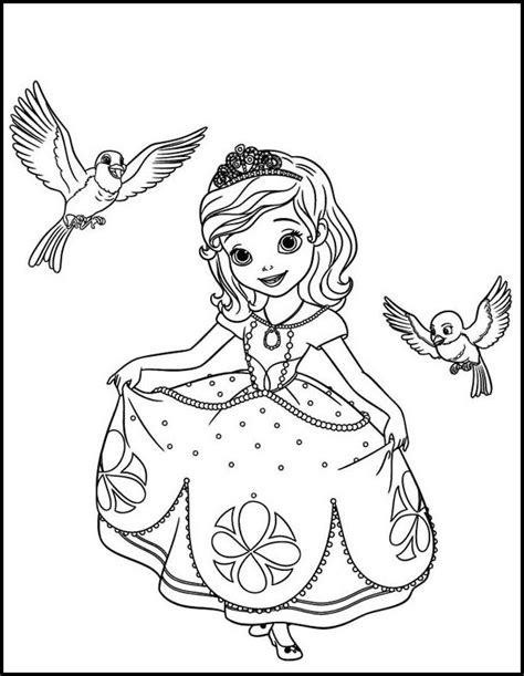 sofia coloring pages pdf princess sofia coloring pages 1mobile com