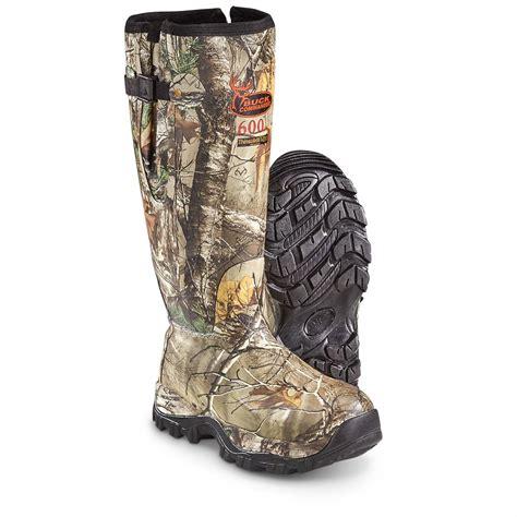 buck commander s 18 quot mule side zip insulated rubber