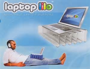 lap desk with notebook computer cooling fan craziest gadgets