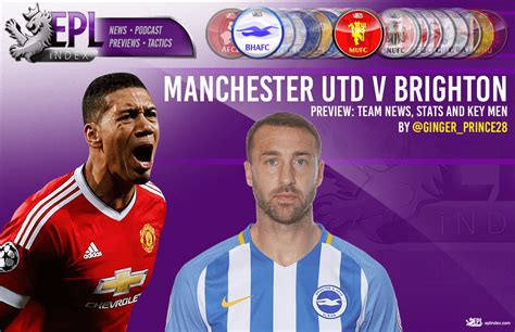 Manchester United Code E manchester united vs brighton preview key team news and stats epl index unofficial