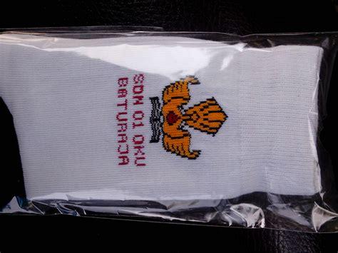 Kaos Kaki Smp Putih Hitam Sekolah Bahan Spandek Murah Ecer Grosir pembuatan kaos kaki sekolah di bekasi