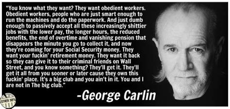 george carlin quotes government. quotesgram