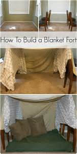 step by step on how to make a blanket fort