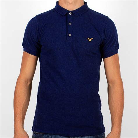 Kaos T Shirt Wrangler Reove Store voi navy blue marl ford sleeve polo shirt