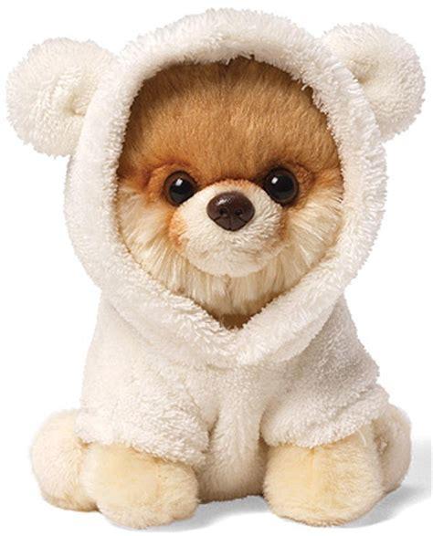 boo dog itty bitty boo in bear suit no 9 gund