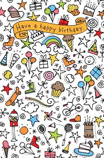 happy birthday doodle easy simple doodle ideas birthday doodle design for american