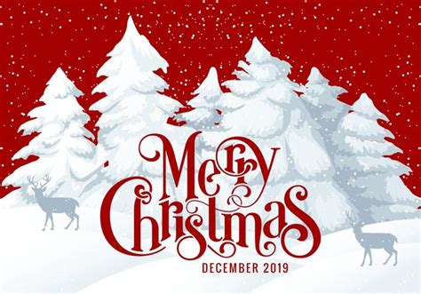 merry christmas  card illustration   vector art stock graphics images