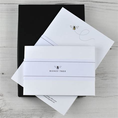 personalised writing paper premium illustrated writing paper set with gift box by