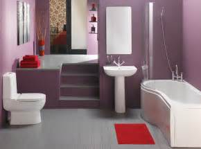 bathroom color decorating ideas simple purple bathroom design home design picture
